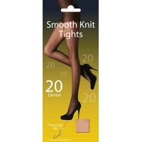 Pretty Legs Plus Size XL 20 Denier Smooth Knit Tights