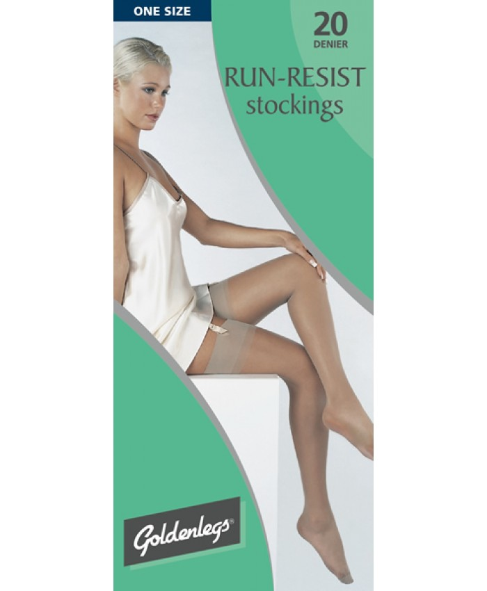 Goldenlegs 20 Denier Run Resist Stockings