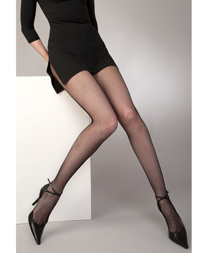 "Fishnet Tights with LYCRA- Extra Large upto 54""hip/137cms"