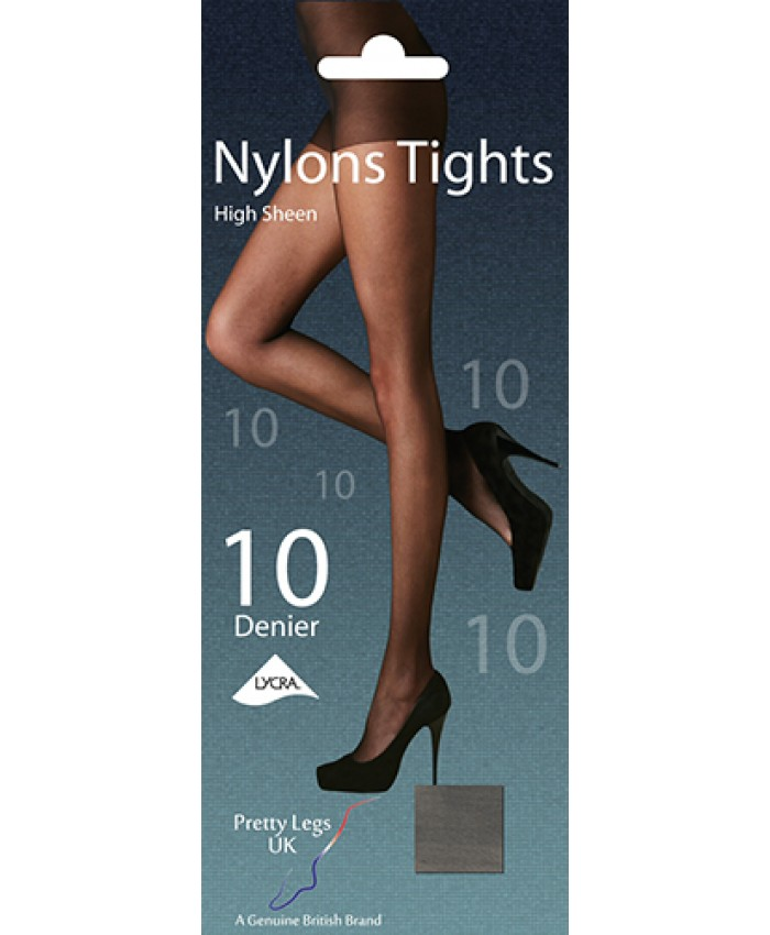 Pretty Legs 10 Denier Sheer Nylon Tights