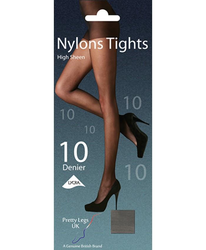 Pretty Legs 10 Denier Sheer Nylon Tights