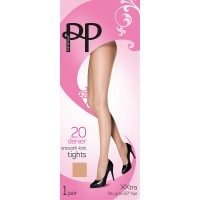 Pretty Polly XXL 20 Denier Smooth Knit Tights