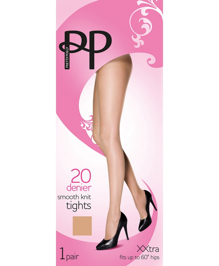 Pretty Polly XXL 20 Denier Smooth Knit Tights