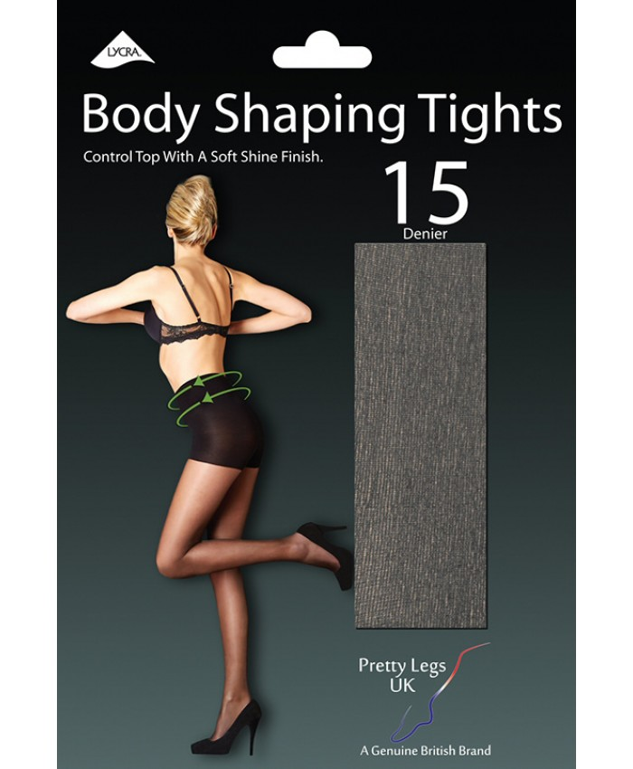 Pretty Legs 15 Body Shaping Sheer Tights (CLEARANCE)