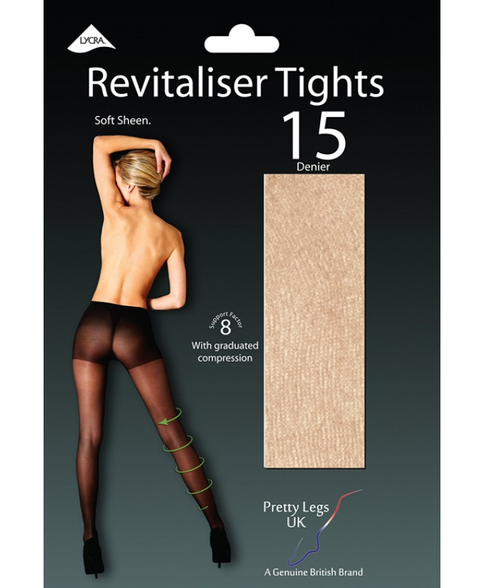 Pretty Legs 15 Denier Luxury Revitaliser Sheer Tights