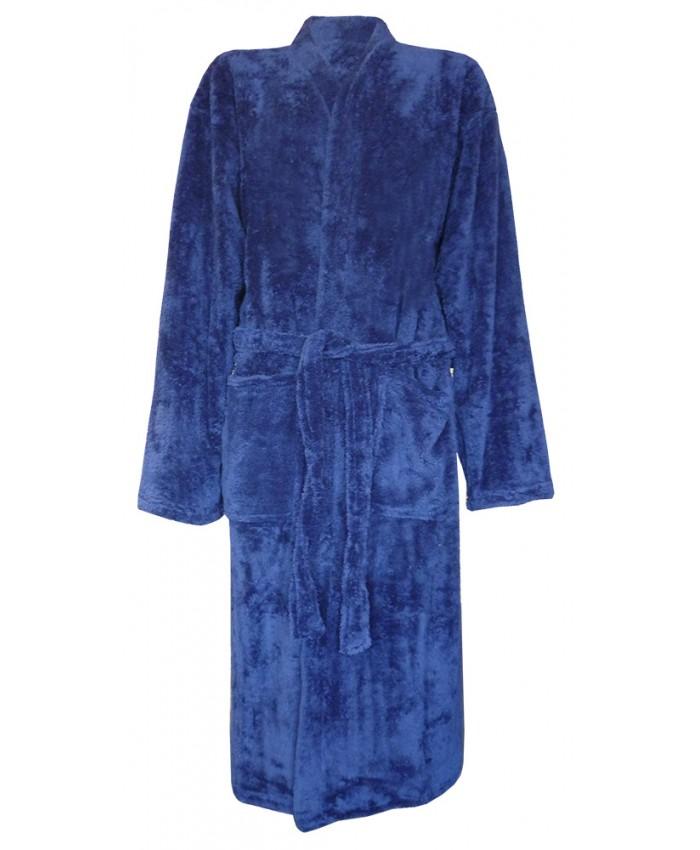 Supersoft Fleece Robe NAVY