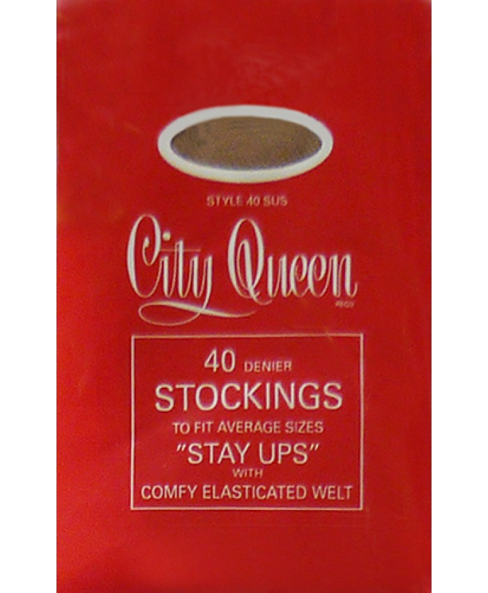 City Queen 40 Denier Hold ups