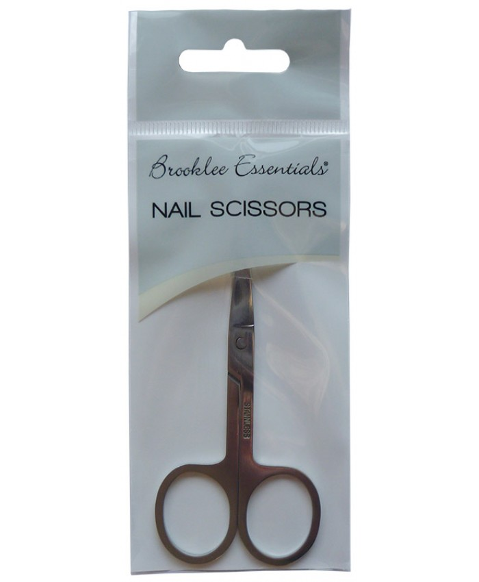 Curved Nail Scissors (Sold in 6's)
