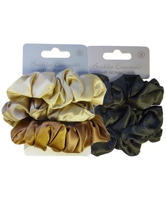 3 pack Hair Scrunchies (Sold in 6's)