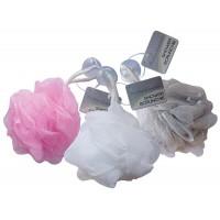 Shower Scrunchie with Sucker (Sold in 6's)