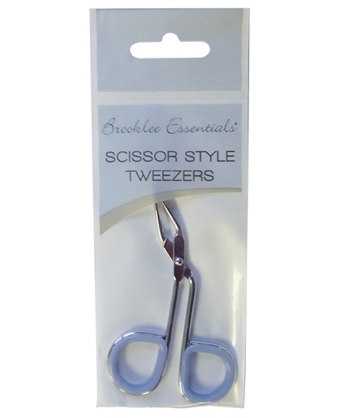 Scissor Style Tweezers (Sold in 6's)