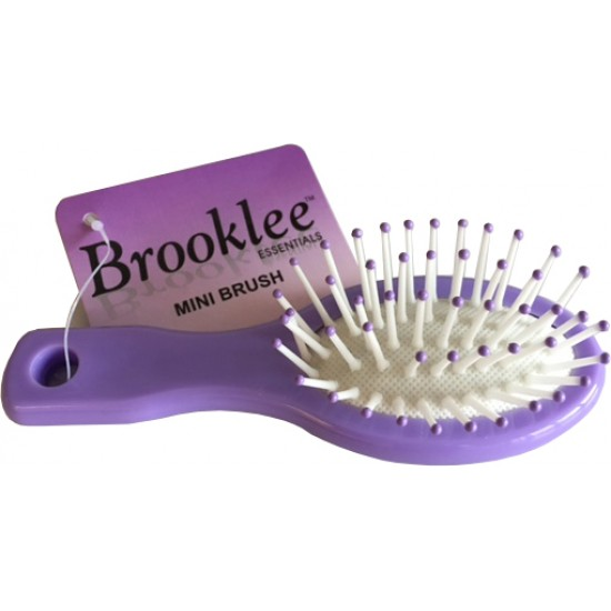 REDUCED - Rubber Cushioned Mini Brush - Handbag Size (Sold in 20's)
