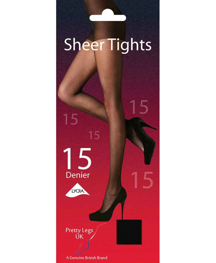 Pretty Legs 15 Denier Sheer Tights