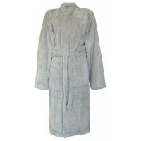 Supersoft Fleece Robe SILVER